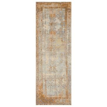 """Loloi Mika MIK-11 2'5"""" x 11'2"""" Antique Ivory and Copper Runner, , large"""
