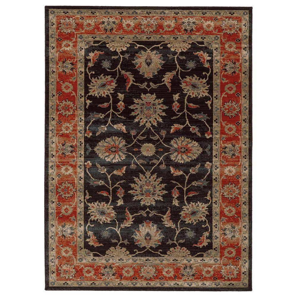 """Oriental Weavers TB Vintage 634N 9'10"""" x 12'10"""" Navy Area Rug, , large"""