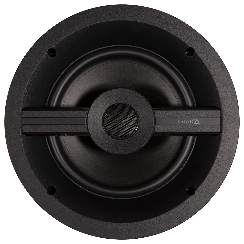 """Triad In-Ceiling 8"""" Series 2 Open Back Speaker in Black, , large"""