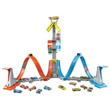 Hot Wheels Loop and Launch Track Set, , large