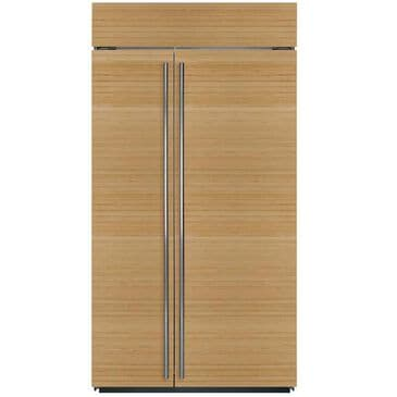 """Sub Zero 42"""" Built-in Side by Side Refrigerator (Requires Panels), , large"""