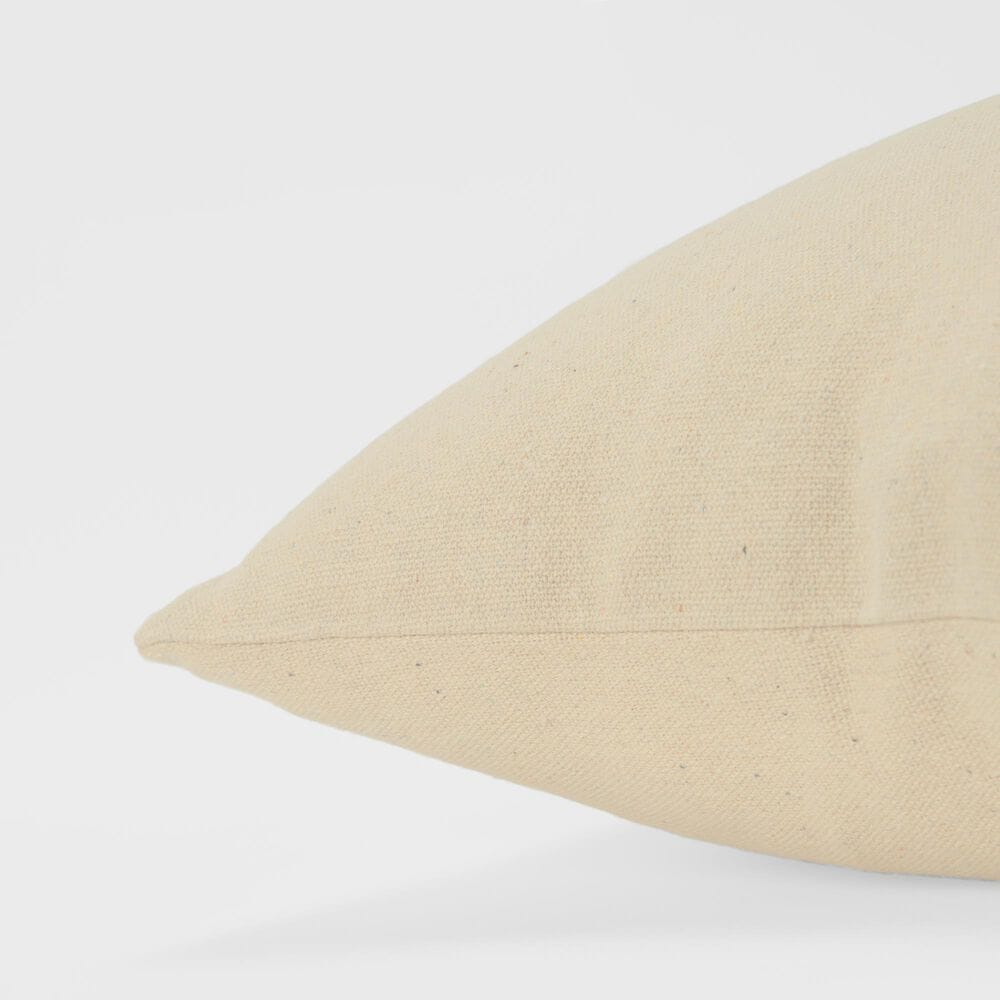 """Rizzy Home Sentiment 20"""" Poly Filled Pillow in Natural, , large"""