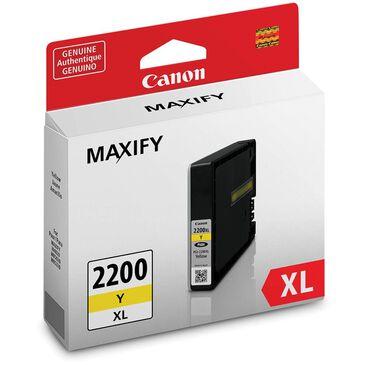 Canon PGI-2200 XL Yellow Pigment Ink Tank, , large
