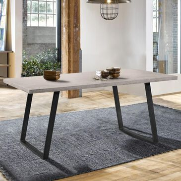Blue River Coronado Dining Table in Grey and Black - Table Only, , large
