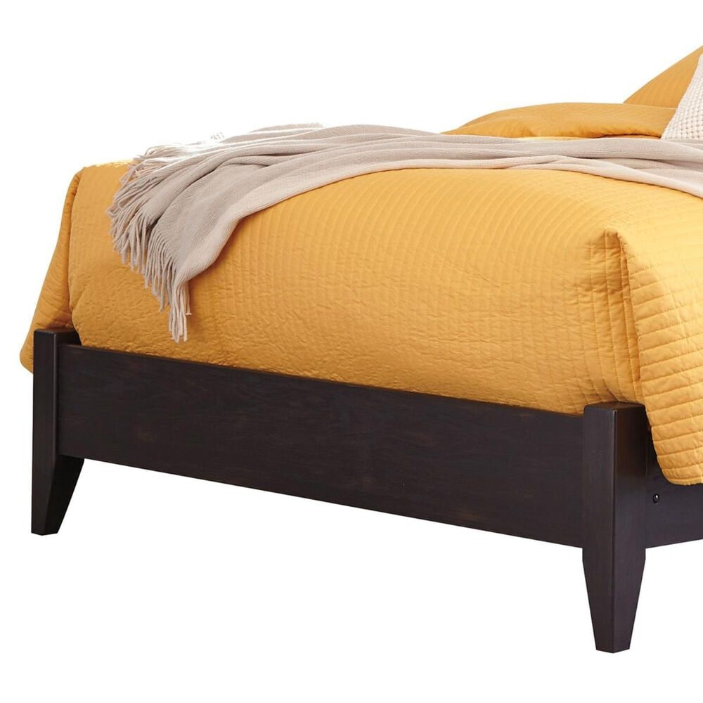 Signature Design by Ashley Reylow Queen Bookcase Bed in Dark Brown, , large