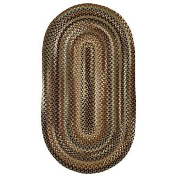 """Capel Gramercy 0070-200 11'4"""" x 14'4"""" Oval Sage Area Rug, , large"""