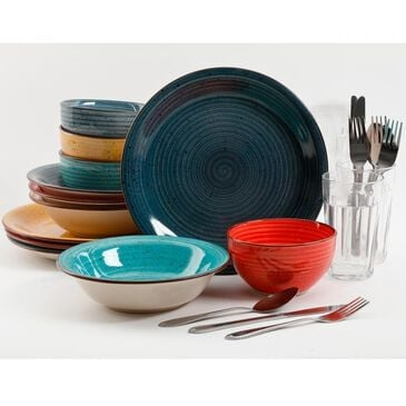 Gibson Home 28pc mix and Match set, , large