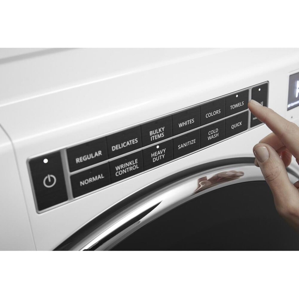 Whirlpool 5.0 Cu. Ft. Front Load Washer in White, , large