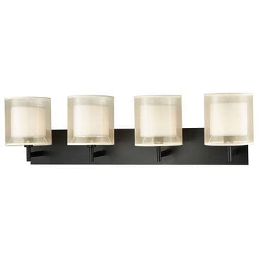 Stein World Ashland 4-Light Vanity Matte Black, , large