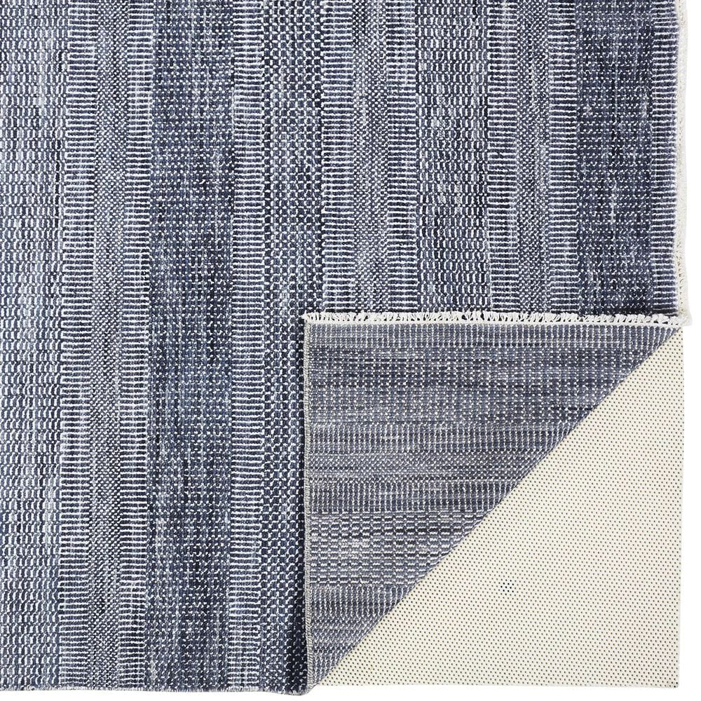Feizy Rugs Janson I6062 2' x 3' Navy and Silver Area Rug, , large