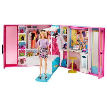Barbie Dream Closet with Blonde Barbie Doll, , large