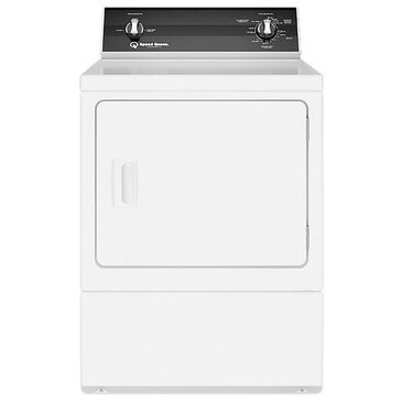 Speed Queen 7.0 Cu. Ft. Electric Dryer with 2 Auto Dry Cycles in White, , large