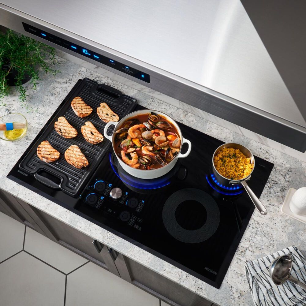 "Samsung 30"" Induction Cooktop in Stainless Steel, , large"