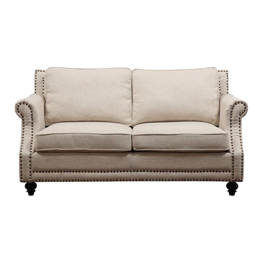 Tov Furniture Camden Beige Linen Loveseat, , large