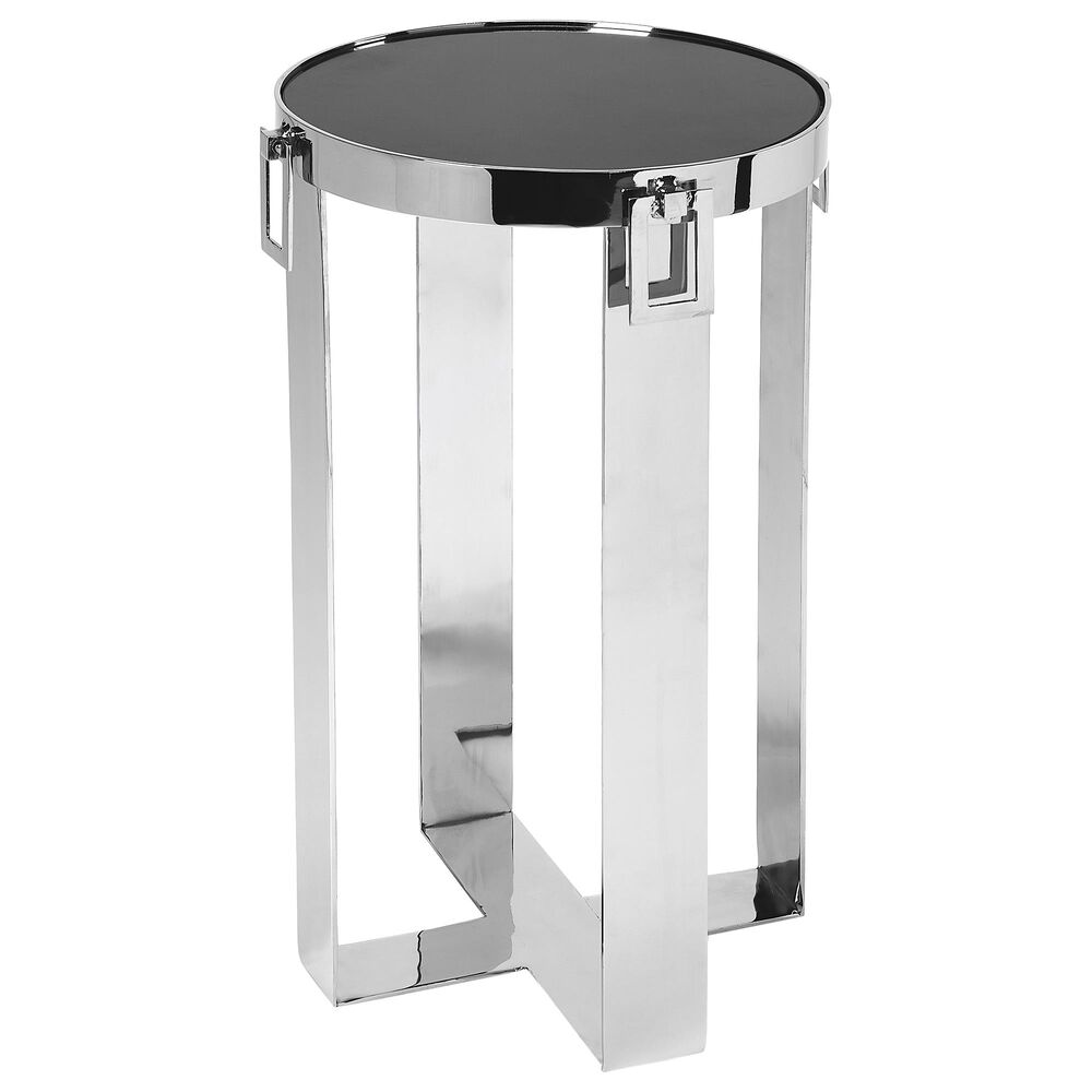 Butler Westwood Accent Table in Silver, , large