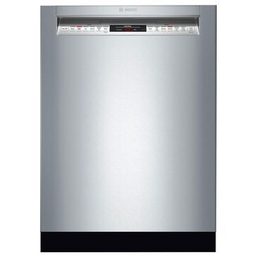 """Bosch 800 Series 24"""" Front Control Dishwasher in Stainless Steel, , large"""
