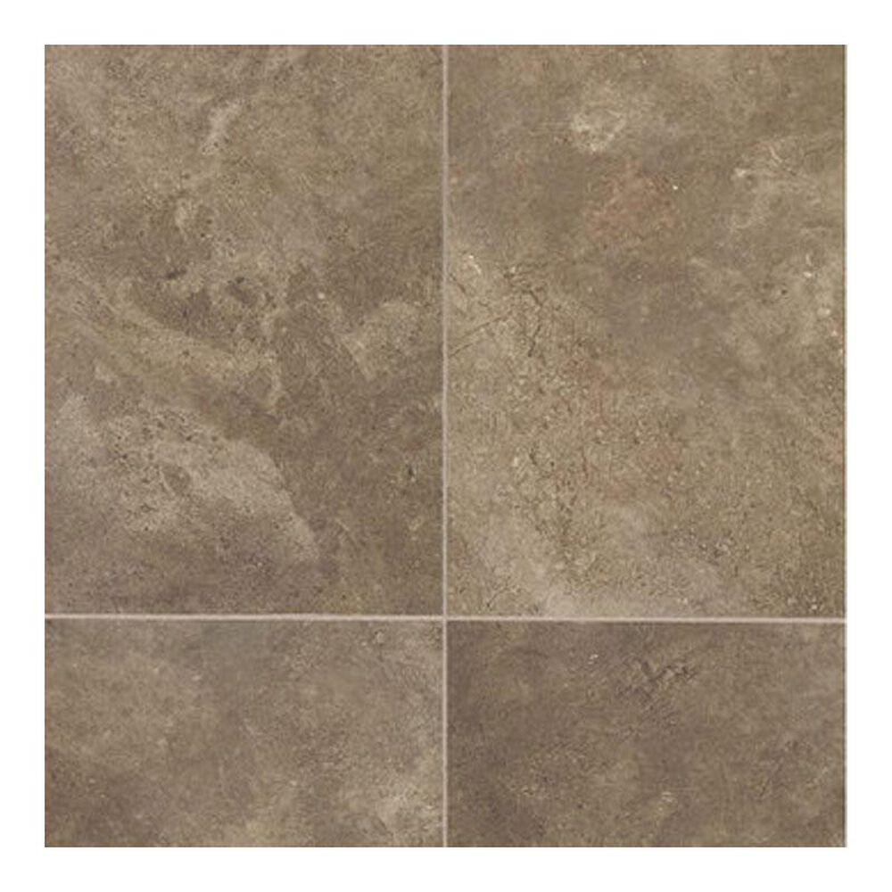"""Dal-Tile Affinity Brown 12"""" x 12"""" Porcelain Tile, , large"""