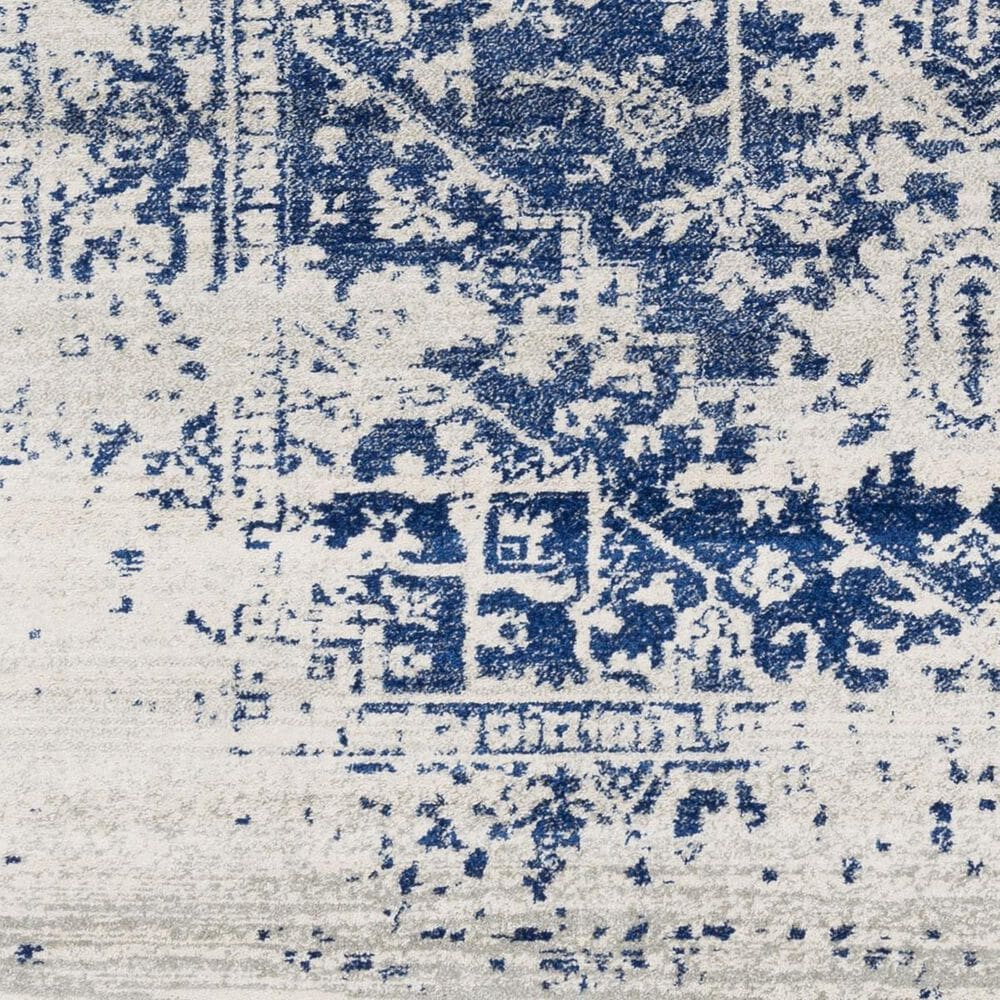 "Surya Harput HAP-1021 7'10"" x 10'3"" Blue, Gray and Beige Area Rug, , large"