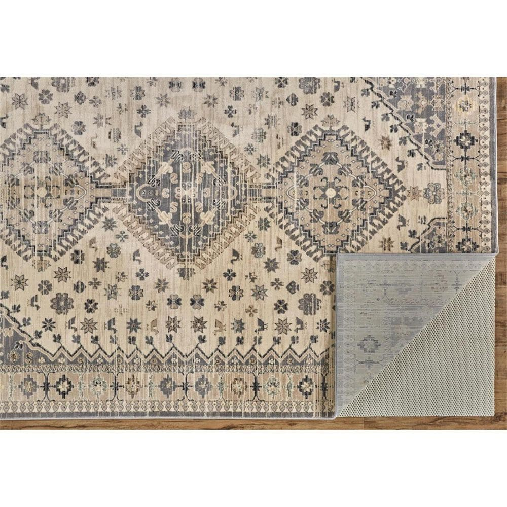 """Feizy Rugs Grayson 3577F 4'11"""" x 7'8"""" Beige and Gray Area Rug, , large"""
