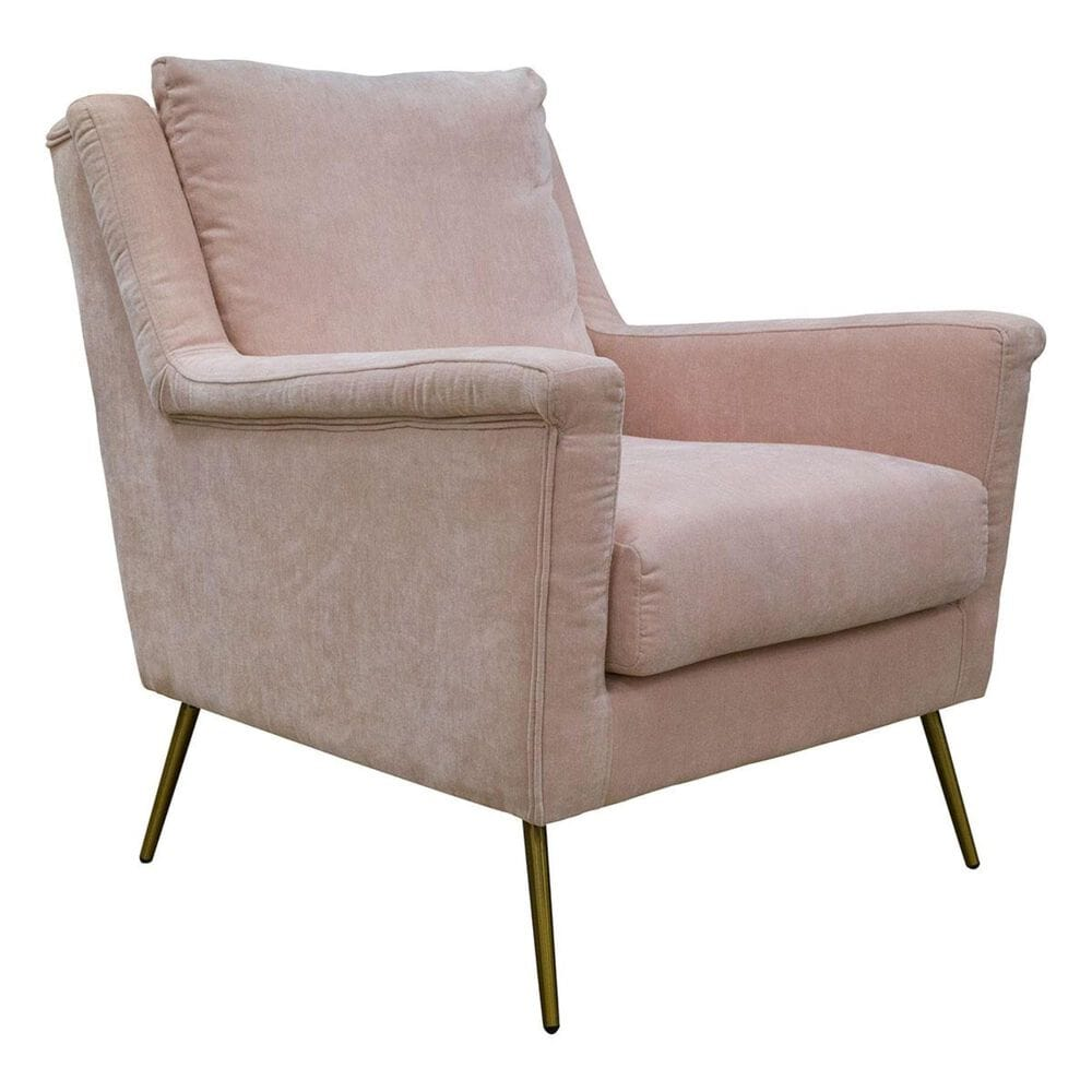 Mayberry Hill Casual Chair in Blush Pink Velvet, , large