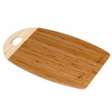"""Island Bamboo 18"""" x 12"""" Cutting Board with Gravy Groove, , large"""