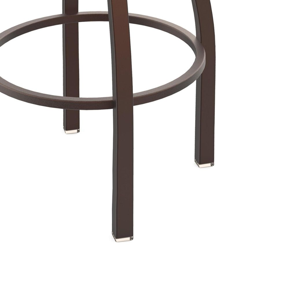 """Holland Bar Stool 411 Jackie 25"""" Low Back Swivel Counter Stool with Bronze and Canter Sand Seat, , large"""