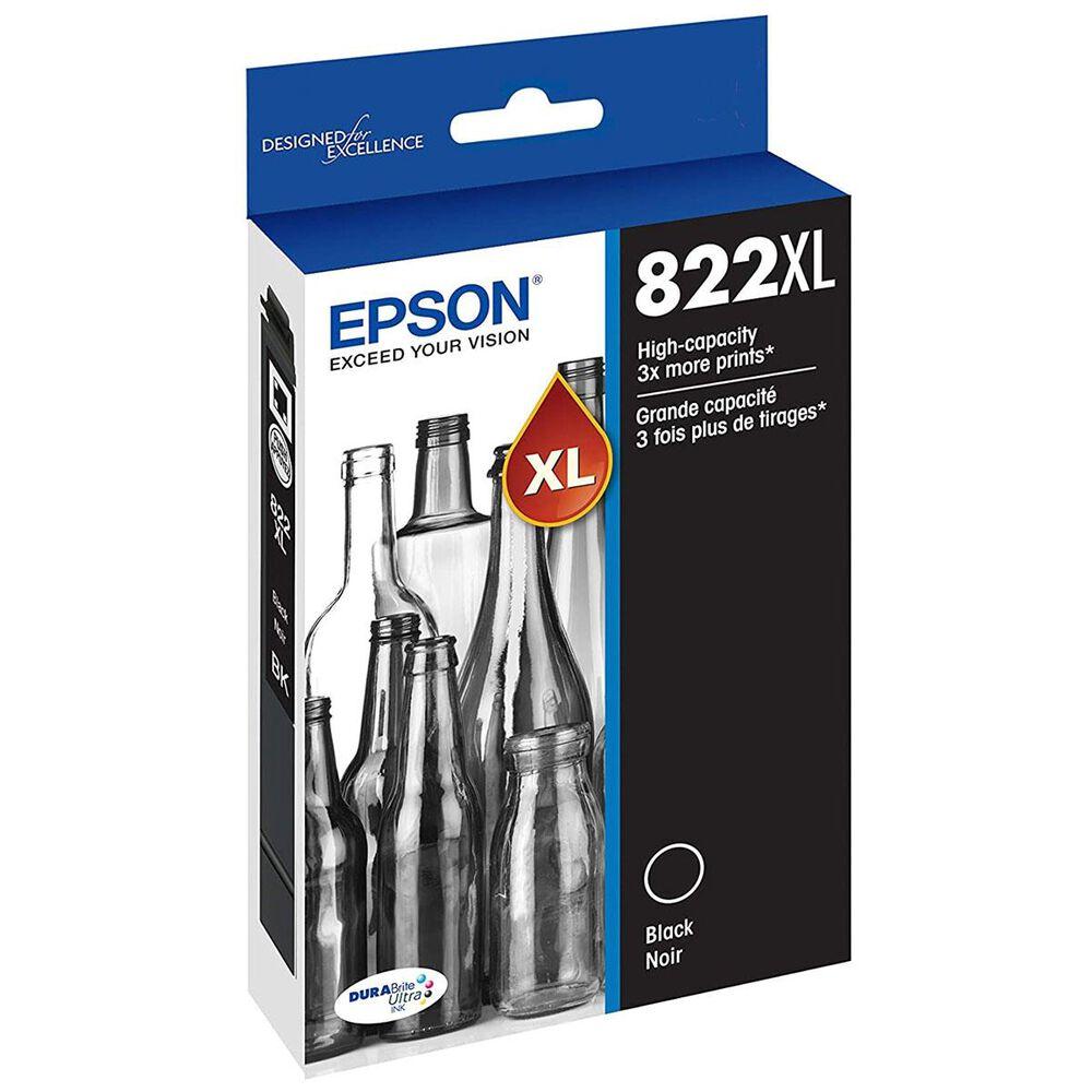 Epson T822XL Standard Capacity Ink Cartridge in Black, , large