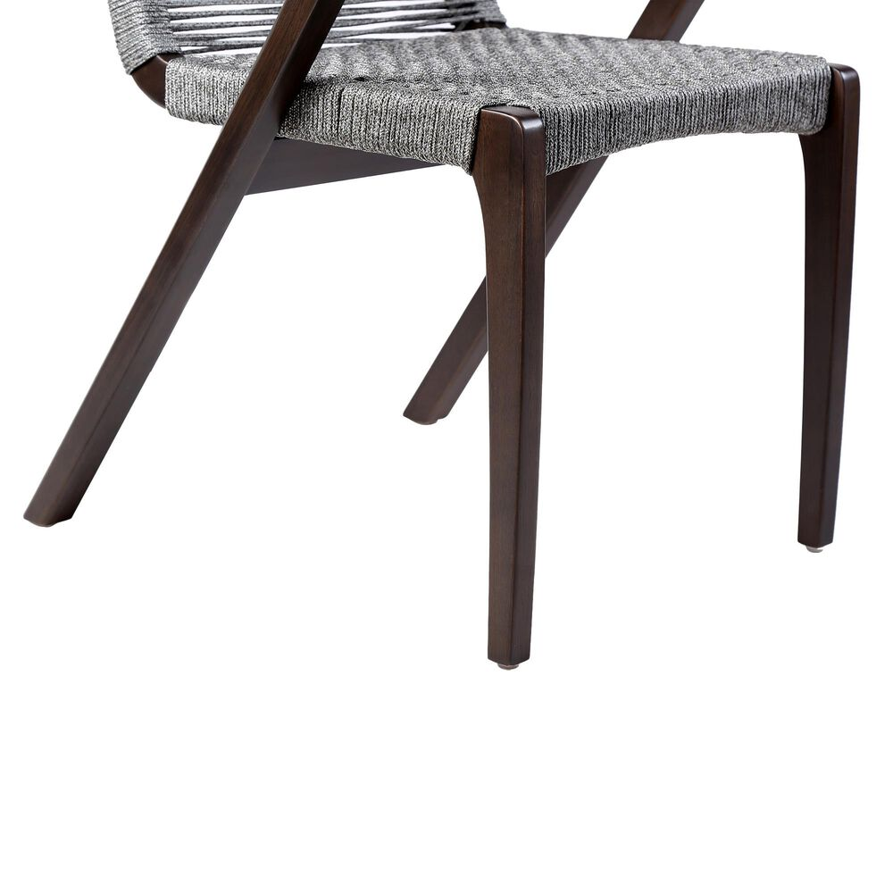 Blue River Brielle Patio Dining Chair in Gray/Eucalyptus (Set of 2), , large