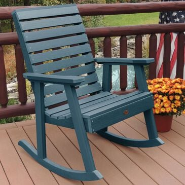 Highwood USA Weatherly Rocking Chair in Nantucket Blue, , large