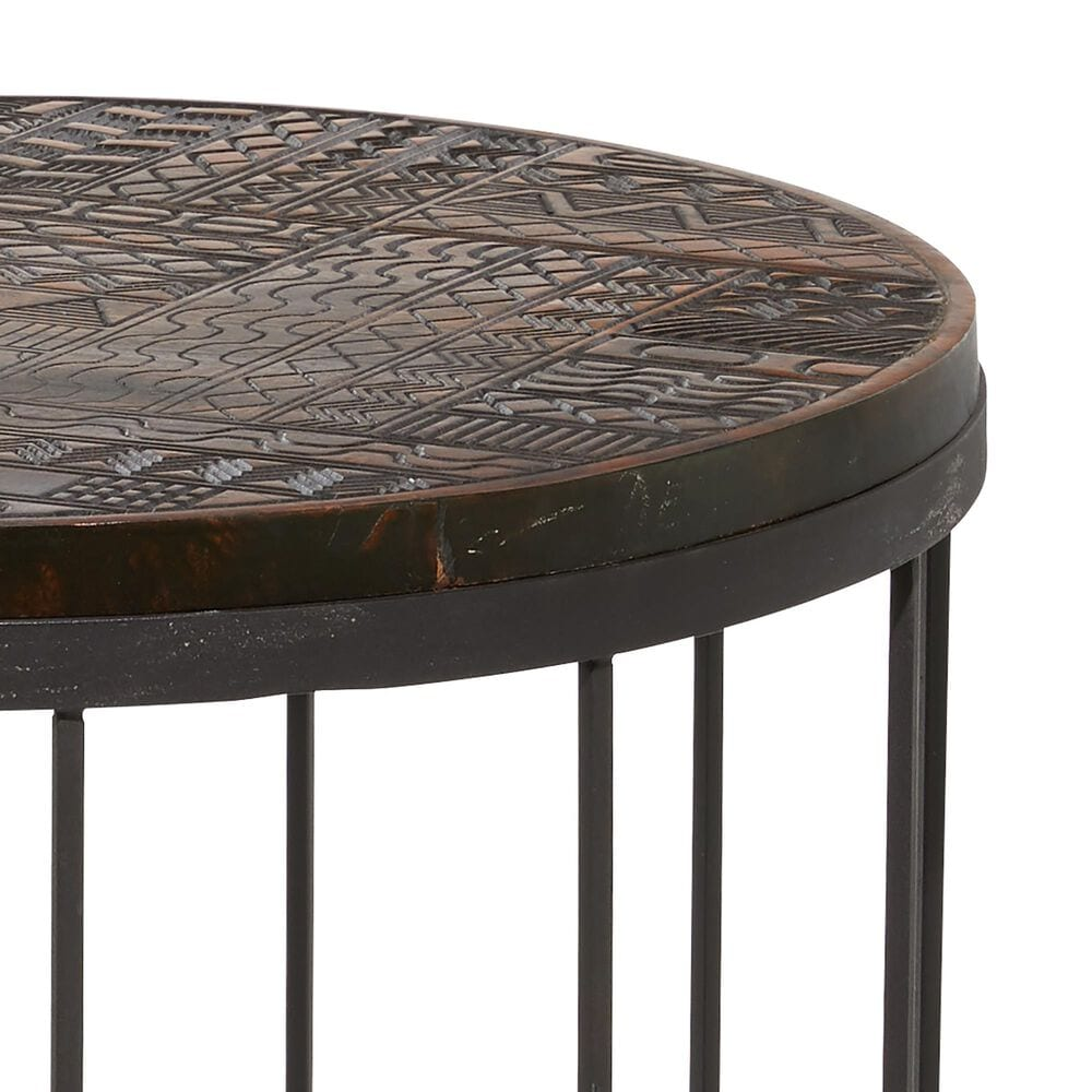 Venus Williams Collection Contemporary Wood Accent Table in Multi Colored, , large