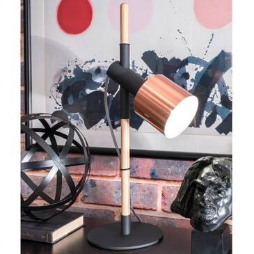 """nuLOOM Ellie 24"""" Table Lamp in Black, , large"""