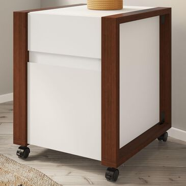 Bush Voss 2-Drawer Mobile File Cabinet in Cotton White, , large