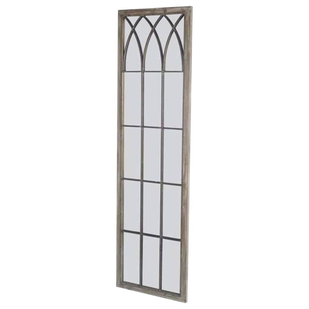 Mercana Midvale Wall Mirror in Light Wood, , large
