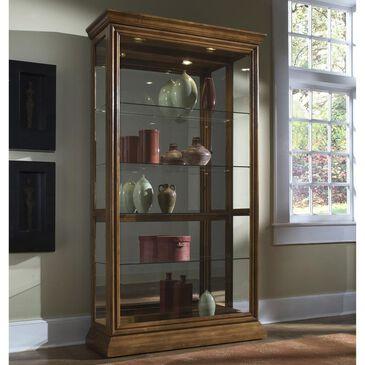Chapel Hill Curio Cabinet in Golden Oak, , large
