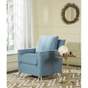 Safavieh Jensen Club Chair in Blue, , large