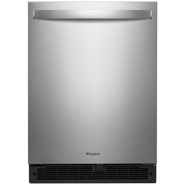 "Whirlpool 24"" Wide 5.1 Cu. Ft. Undercounter Refrigerator in Fingerprint Resistant Stainless Steel , , large"