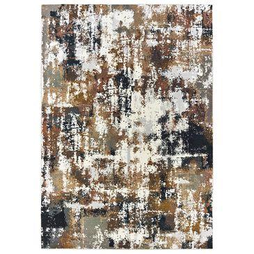 "Oriental Weavers Bowen 4928X 6""7"" x 9""6"" Grey Area Rug, , large"
