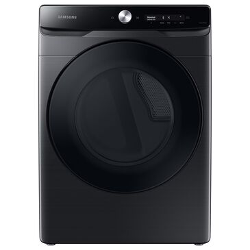 Samsung 7.5 Cu. Ft. Electric Dryer with Super Speed Dry in Brushed Black, , large
