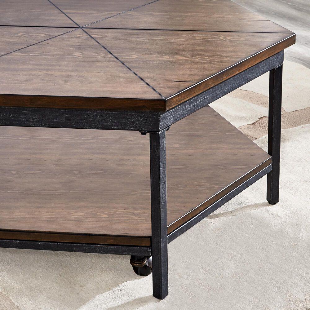 Steve Silver Ulla Lift-Top Coffee Table in Mocha, , large