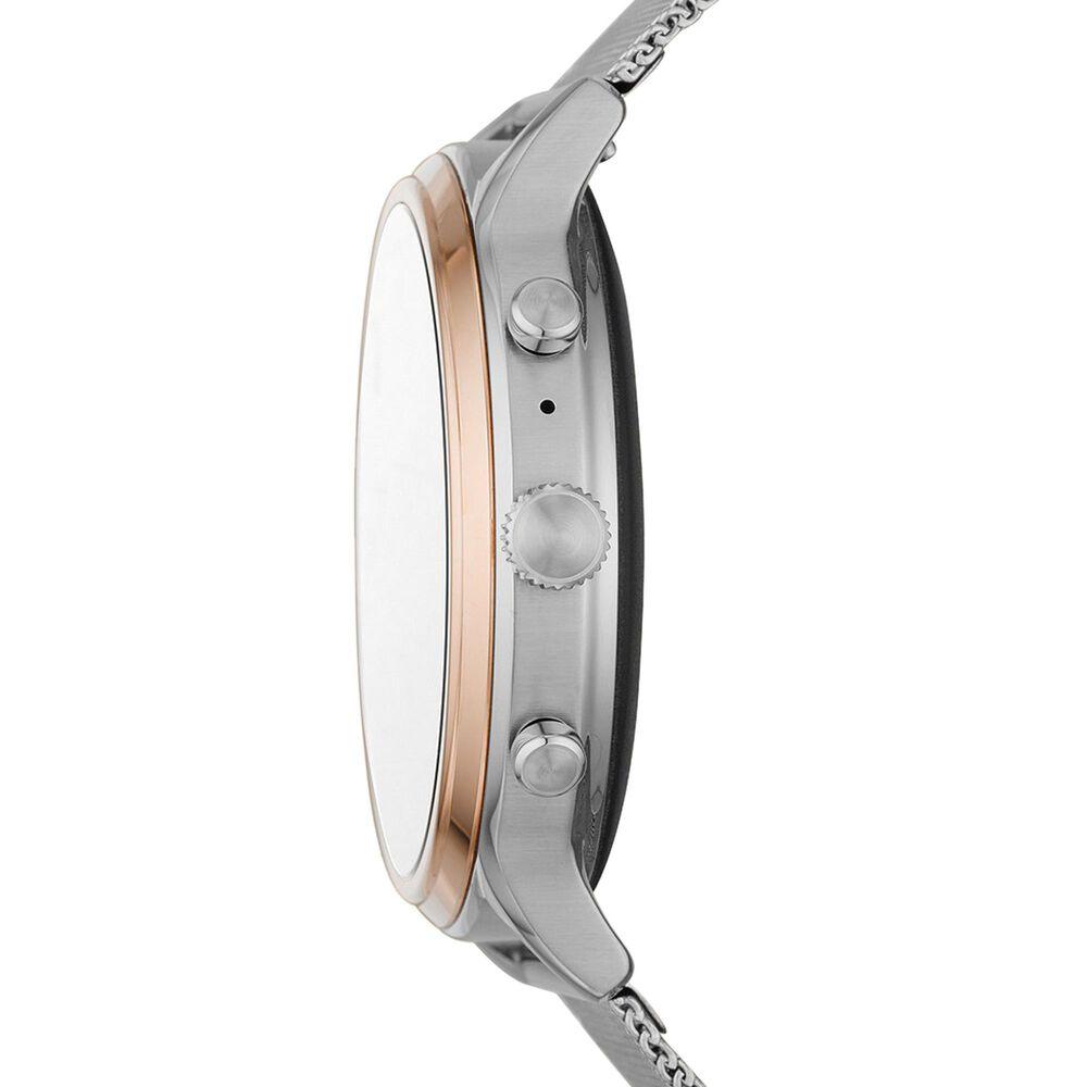 Fossil Julianna HR Gen 5 Smartwatch 44mm in Stainless Steel Mesh, , large