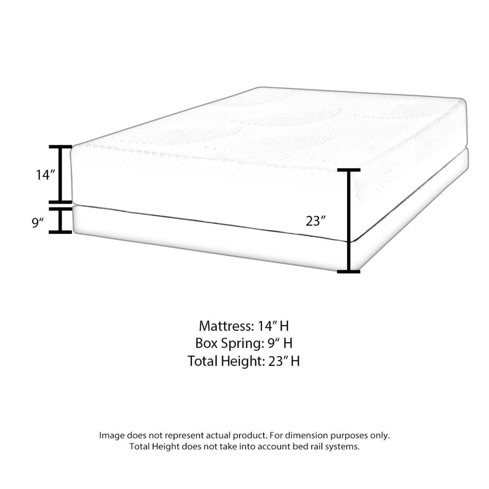 Sealy Premium Silver Chill Hybrid Firm Queen Mattress with High Profile Box Spring, , large