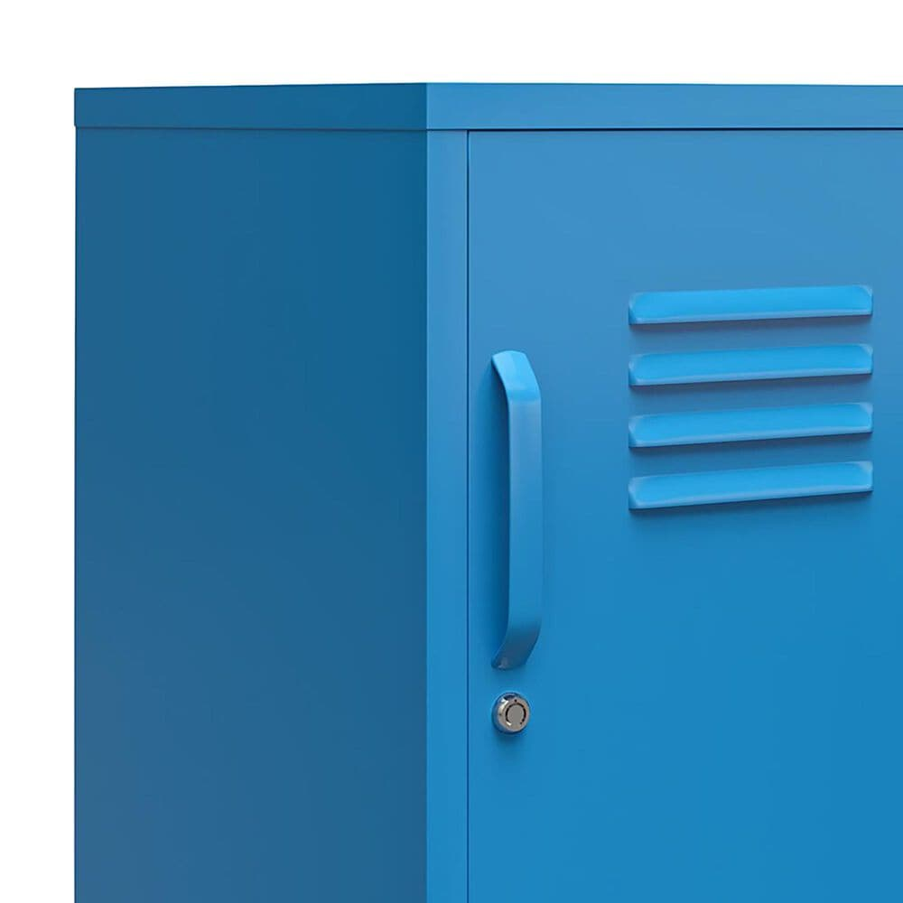 Novogratz Cache 2-Door Storage Cabinet in Blue, , large