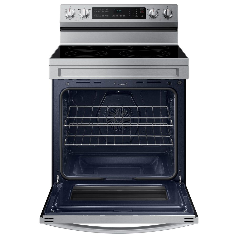 Samsung 6.3 Cu. Ft. Freestanding Electric Range with Air Fry and Wi-Fi in Stainless Steel, , large