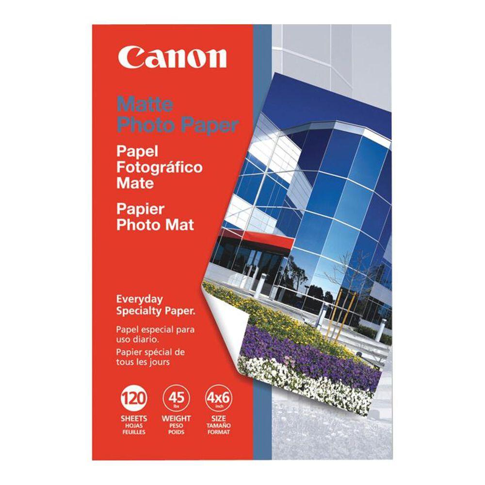 """Canon 120 Sheets Matte Photo Paper (4"""" x 6"""" ), , large"""