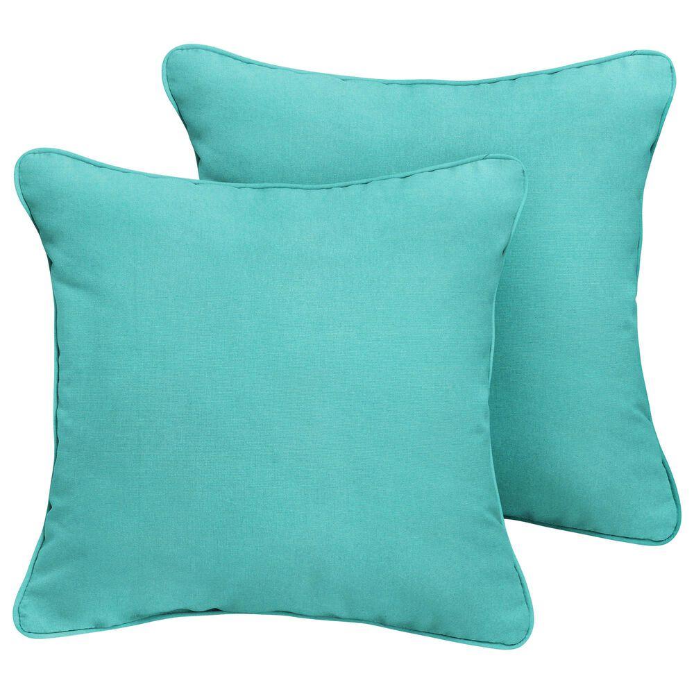 "Sorra Home Sunbrella 20"" Pillow in Canvas Aruba (Set of 2), , large"