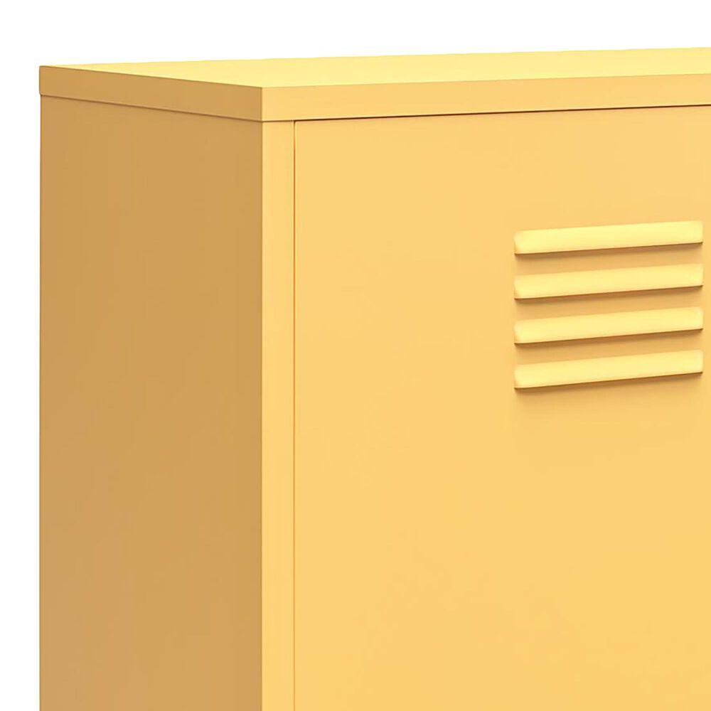 Novogratz Cache 2-Door Accent Cabinet in Yellow, , large