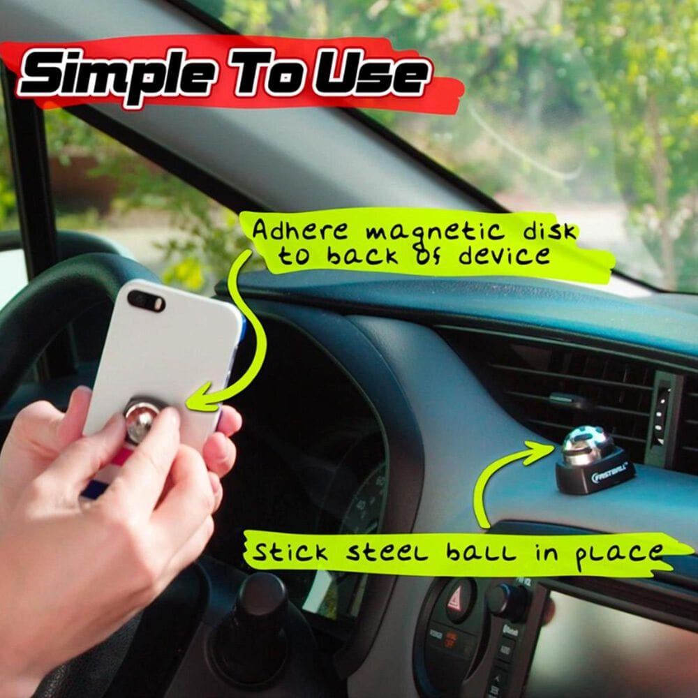 As Seen on TV Fastball Magnetic Ball and Socket Phone Mount , , large