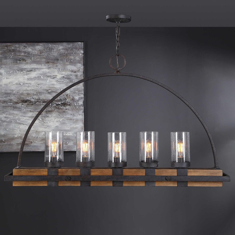 Uttermost Atwood 5-Light Chandelier, , large