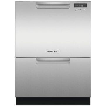 Fisher and Paykel Built-In Tall Double DishDrawer Dishwasher with Full Flex Racking In Stainless Steel , , large
