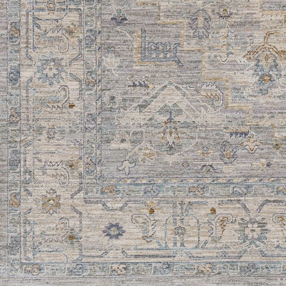 "Surya Avant Garde 2'7"" x 4' Gray, Beige and Denim Area Rug, , large"